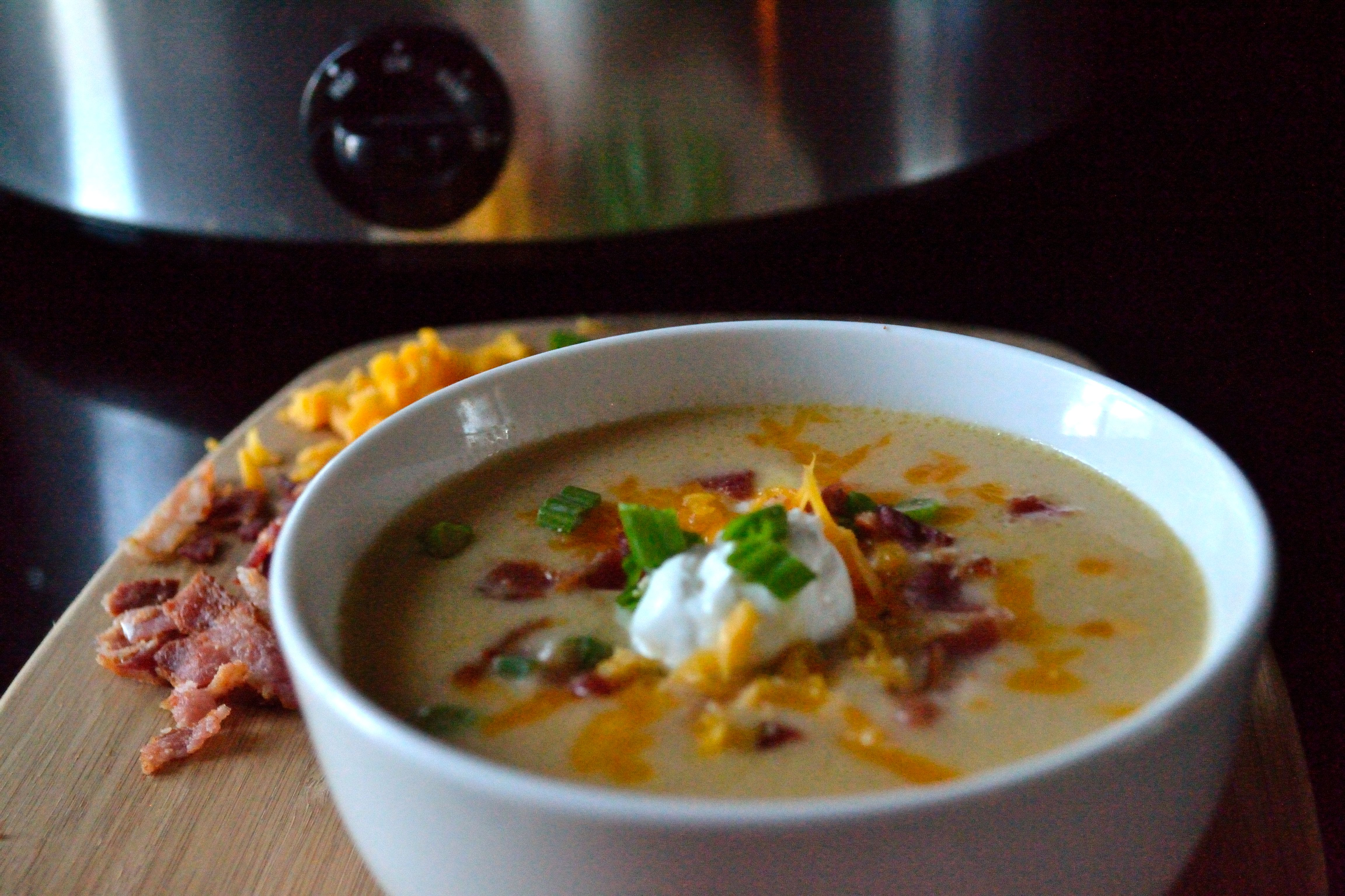 Slow Cooker Loaded Potato Soup Coop Can Cook