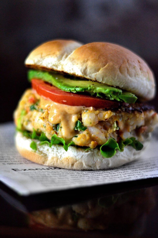 Creole Shrimp Burger Recipe Coop Can Cook